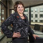 Newsmaker: UMB's Abraham: 'I've got to represent all women in this organization'