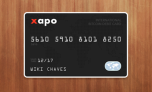 Xapo's international bitcoin debit card