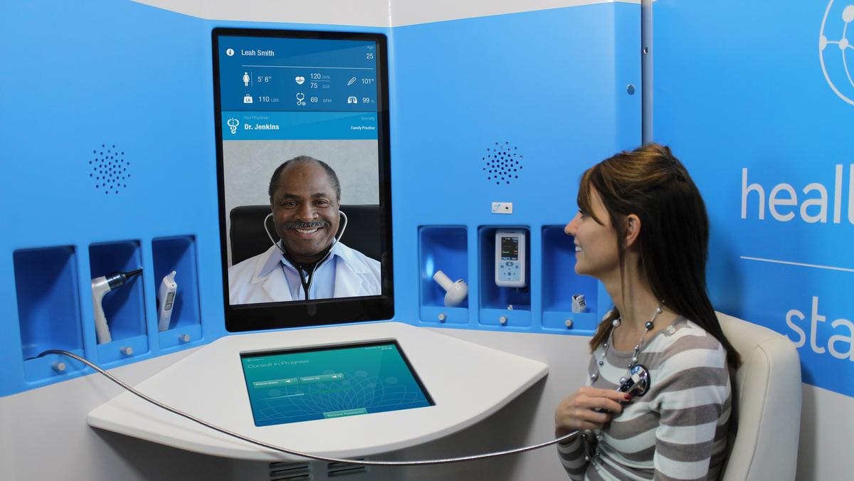 Xerox Invests In Healthspot Will Help Take Its Telemedicine Booths Nationwide Columbus Business First