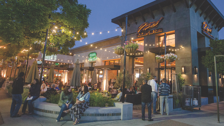 A snapshot of downtown Campbell. The San Jose suburb's population grew more than any other Silicon Valley city last year thanks in large part to a reorganization of city boundaries and an influx of young families.