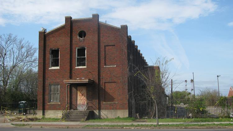 Materials from the train depot near First Avenue North will be used to build a new batting building at Rickwood Field.