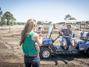 James crichlow Brenna and Ryan Vriga, left, got stuck while touring the under-construction Atlantic Beach Country Club.