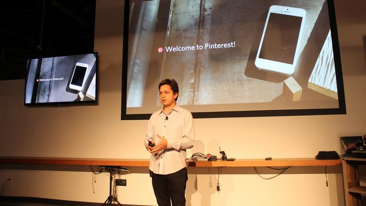 Ben Silbermann, co-founder and CEO of Pinterest.