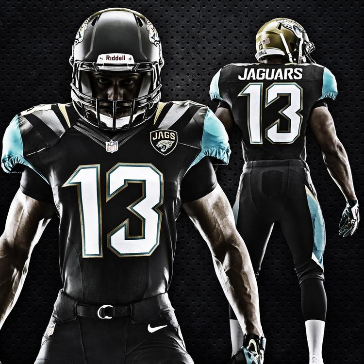 The final version of the Jaguars new uniform.Click through the slideshow to see more images.