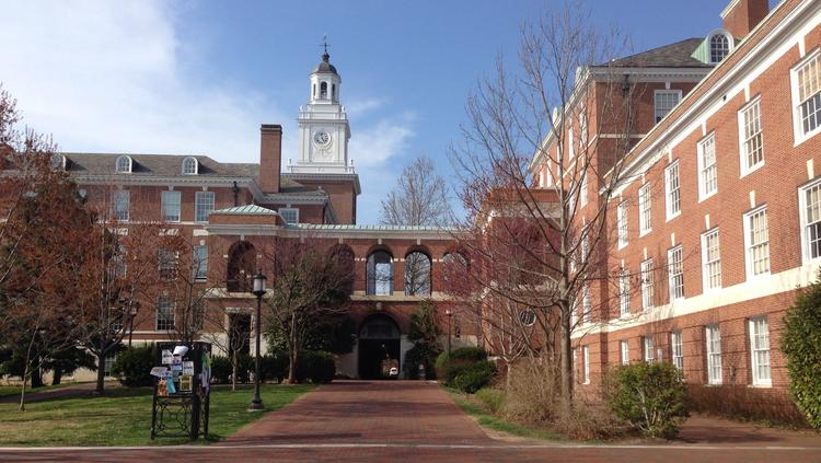 Johns Hopkins University is listed among the nation's top engineering schools.