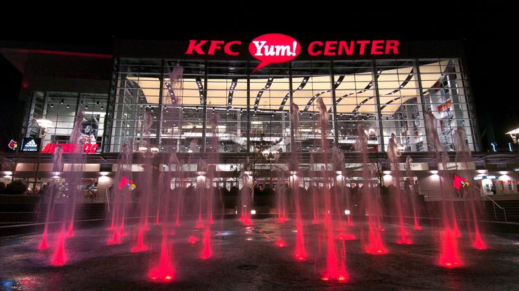 Results of a study of the KFC Yum! Center's economic impact will be released later today.