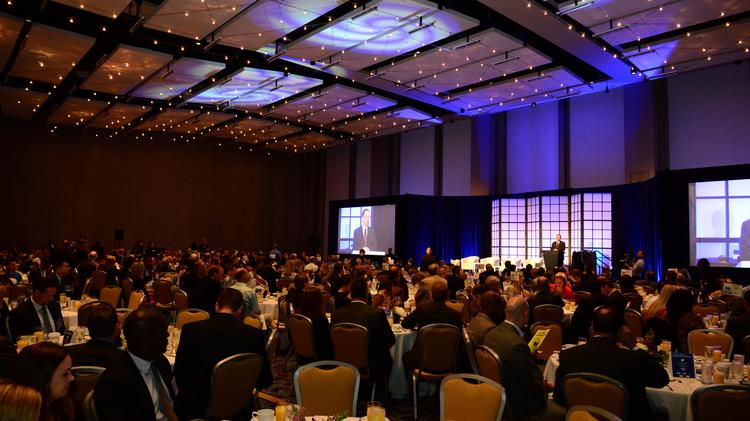 The crowd at the 19th Annual Pacesetter Awards.