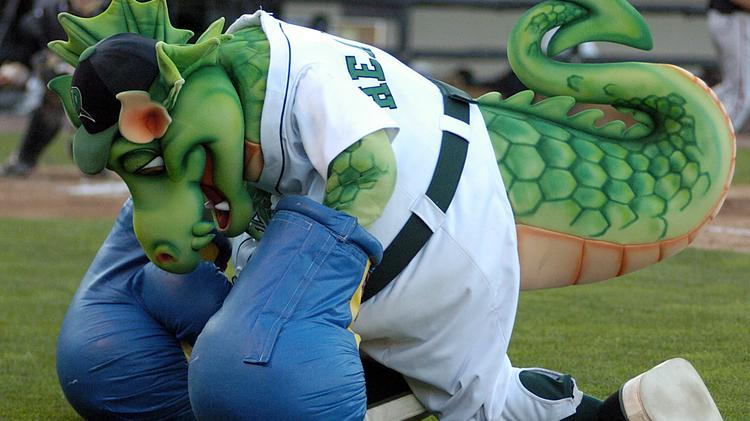 The Dayton Dragons and mascot Heater have attracted $40 million in the most-expensive deal in minor league baseball history.