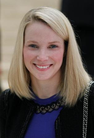 Marissa Mayer, CEO of Yahoo! Inc.