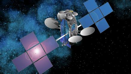 The ViaSat-1 high-capacity broadband satellite built by SSL for ViaSat Inc. set records for satellite broadband speeds, then triggered a lawsuit with SSL also built one like for EchoStar Corp. subsidiary HughesNet.
