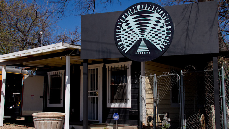 The RVRB Records storefront in East Austin will act as a home base for Austin Psych Fest and the Reverberation Appreciation Society Records label.