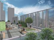 The 19-story tower at 350 Bush will feature a rooftop terrace.