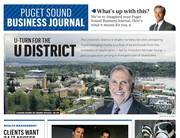 The Puget Sound Business Journal debuted a new look with new features on April 25. See the complete edition for free.