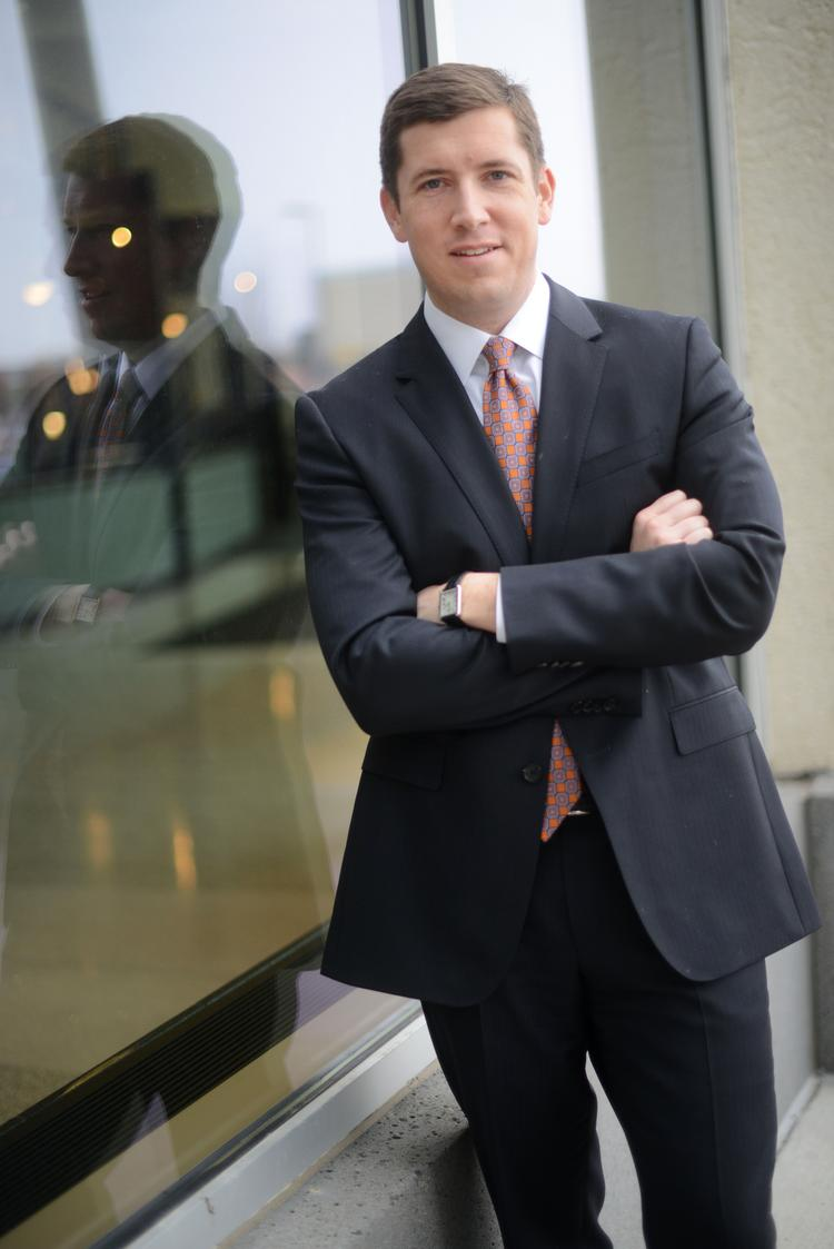 Blake Hastings became the managing director of CBRE Group's local office early this year.