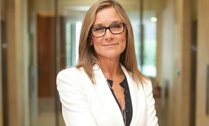 Angela Ahrendts starts her new position at Apple, where she will head physical store and online operations, this week.