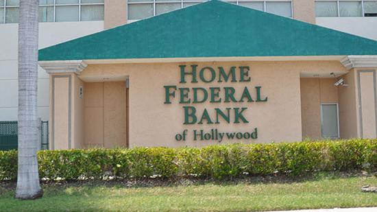 Home Federal Bank of Hollywood needs to improve its capital position to meet a regulatory order.
