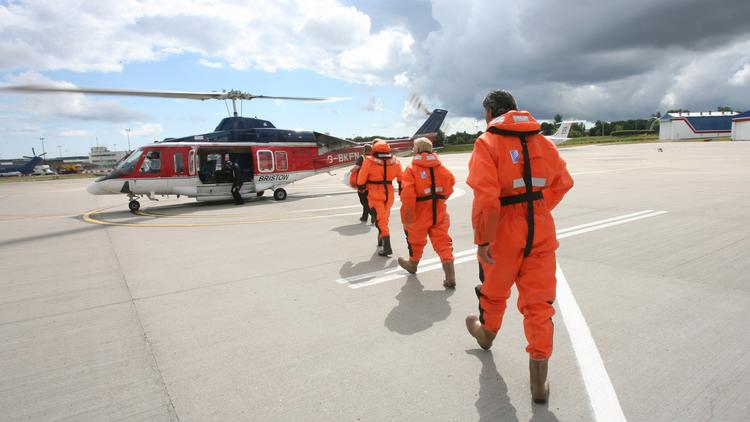 Offshore helicopter providers, including Houston's Bristow Group Inc., are expected to see a surge in new business in the next four years.