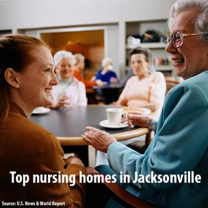 Click through the slideshow to see the top nursing homes in Jacksonville.
