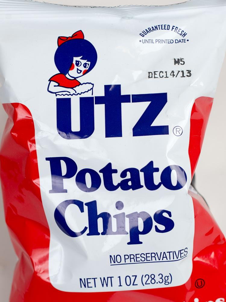 Utz has signed a sponsorship deal with the Baltimore Ravens.