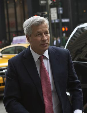 Jamie Dimon, chief executive officer of JPMorgan Chase & Co., is not suspected of wrongdoing in connection to the