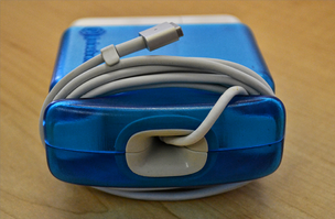 The inspiration behind Juiceboxx, a cover for a MacBook power adaptor designed to prevent a cord from fraying, came after one of the founders experienced having four MacBook chargers break in one year.