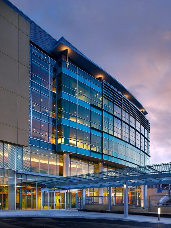 Kennedy Krieger's new outpatient center opened in 2009. The building is named after Harry and Jeanette Weinberg.