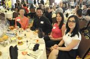 Five companies doing business in the capital region won top honors Tuesday at the Sacramento Business Journal's annual Healthiest Employers awards luncheon. The 23 finalists were also recognized for their efforts for employee wellness. Here, attendees await for the awards program to begin.