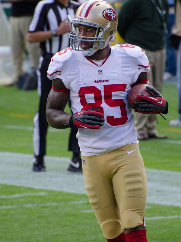 Vernon Davis of the San Francisco 49ers.