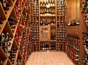 There's plenty of room for a wine collection in the wine room of the historic Eckstein estate on Capitol Hill.