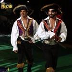 Video captures IIFA co-hosts pirate ship arrival