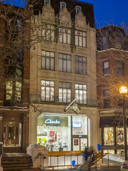 The Pucker family has sold 171 Newbury St. in Boston's Back Bay for $13.25 million.