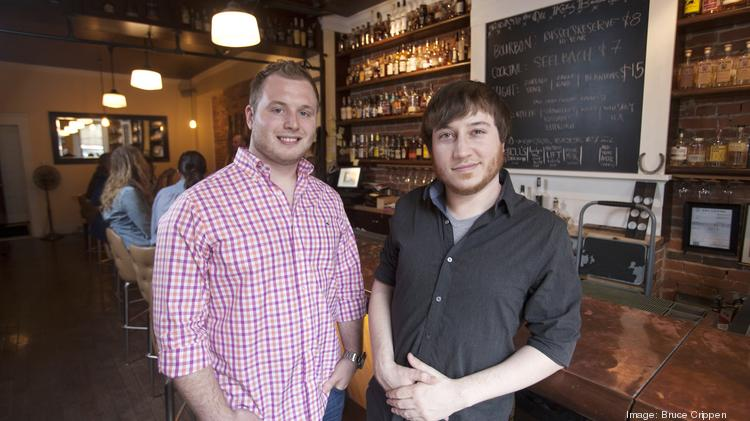 Impulcity is a Cincinnati startup that serves as an event guide and listing with a website and app. Their founders are Hunter Hammonds, left, and Austin Cameron.