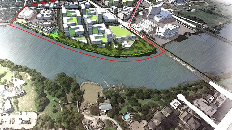 What will the South Central Waterfront District look like in 20 years. Here's a look at one vision generated at a special workshop sponsored by the city of Austin.