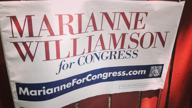Marianne Williamson is one of 17 candidates running for California's 33rd district.