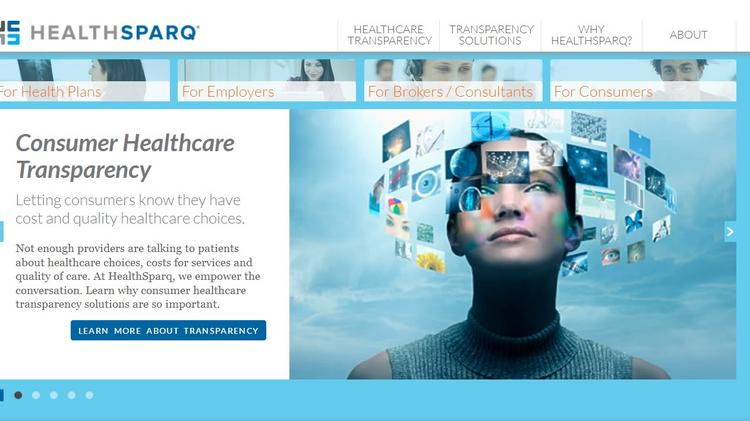 HealthSparq is a price transparency software company for medical care.