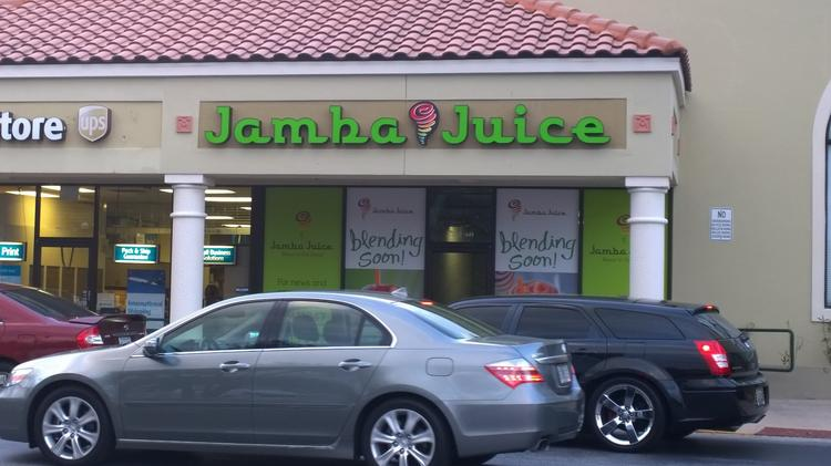 Jamba Juice's local franchisee plans to open its first Central Florida store in May.