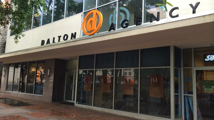 The Dalton Agency is looking to sell its Downtown office space.