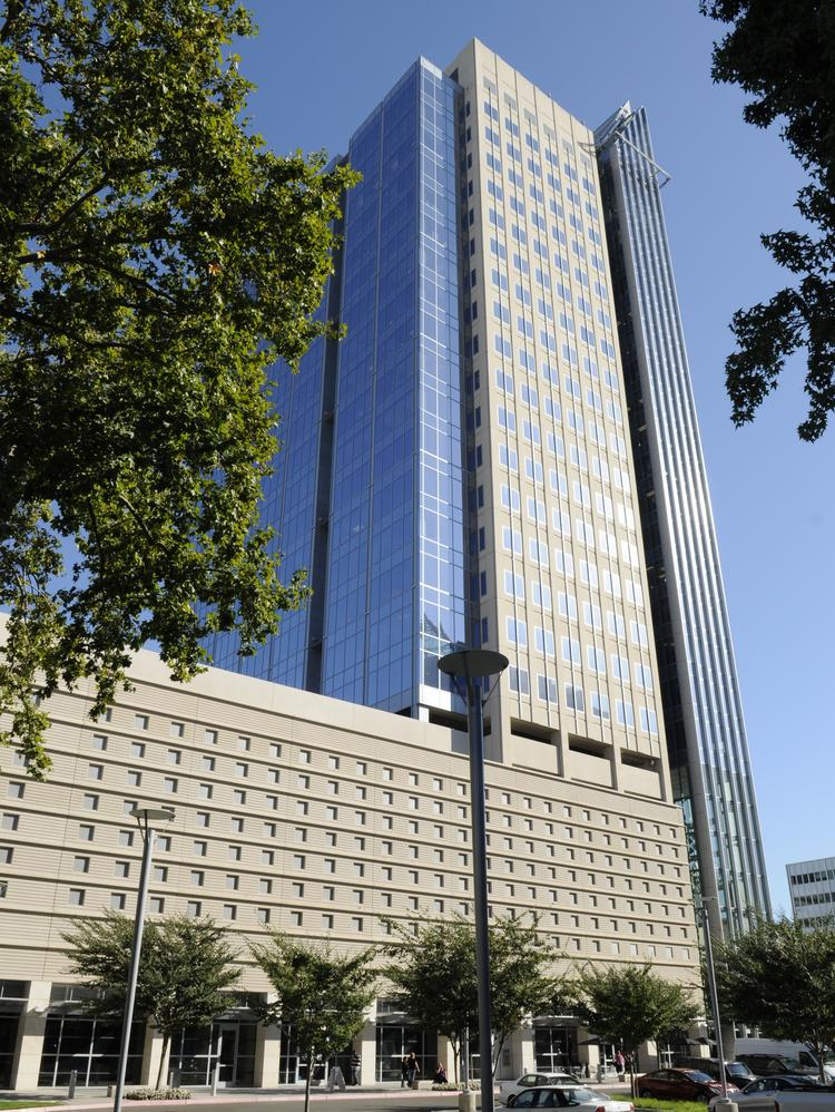 Law firm Downey Brand has renegotiated its lease for space in the 25-story U.S. Bank Tower on Capitol Mall, and will give up two floors in June.