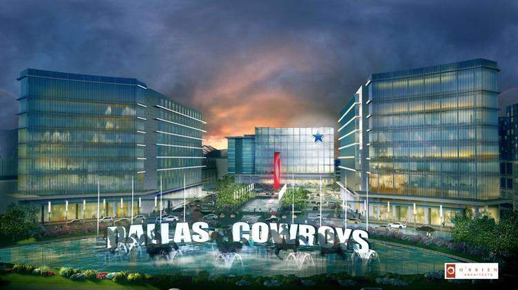 The Dallas Cowboys Corporate Relocation to Frisco was the winner in the HQ/Campus Deal category