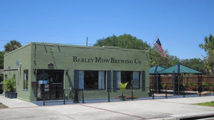 Barley Mow Brewing Co.'s existing location in Largo.