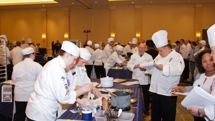 Forest Lake High School students compete in the 2013 National ProStart Invitational held in Baltimore.