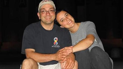 Drs. Hooman Noorchashm and wife Amy Reed