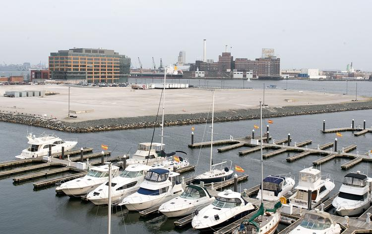 Harbor Point sits between Harbor East and Fells Point.
