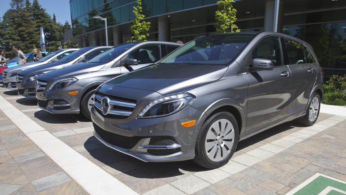 Mercedes Benz Silicon Valley Teams With Tesla On Electric