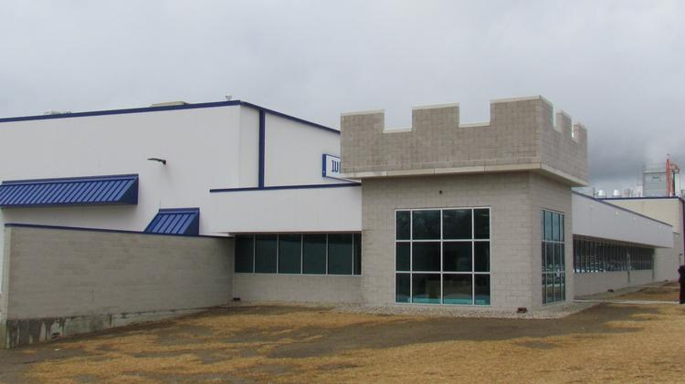 The outside of White Castle's facility in Vandalia.