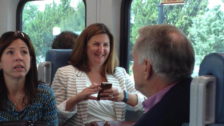 Plenty of tweaks were made for SunRail commuters, including beefing up the train's WiFi system.