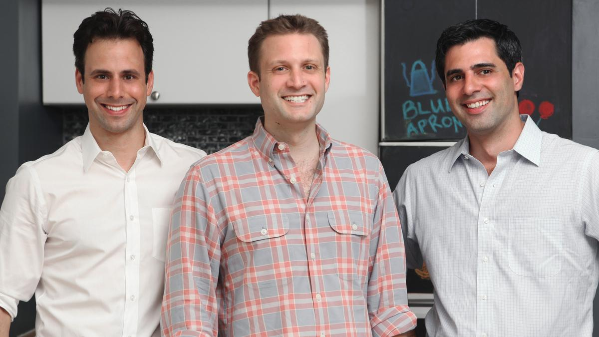 Blue apron in jersey city