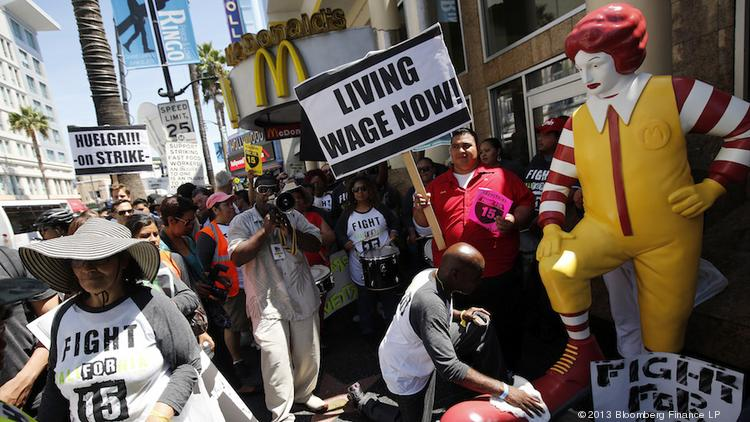 "The decision that McDonald's is a ""joint employer"" with its franchises could make it harder for the restaurant chain to fight off demands for higher wages and union organizing efforts."