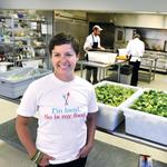 Old-school diet holds recipe for her success