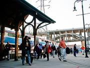 The Music City Star commuter train travels from Wilson County to Riverfront Station in downtown Nashville.